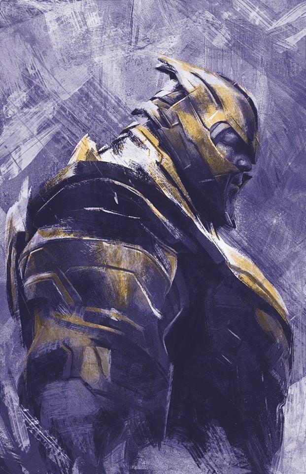 Avengers Endgame Promo Art - Thanos