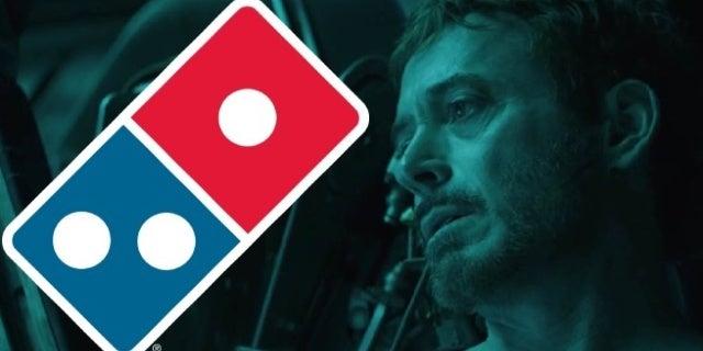 avengers endgame tony stark dominos pizza