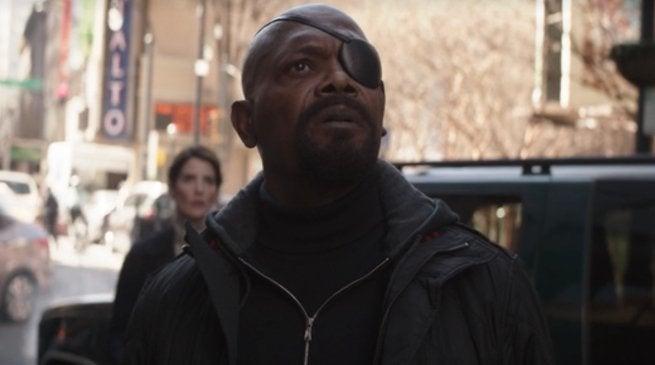 Avengers Infinity War Post Credits Scene Fury Hill Cameron Klein