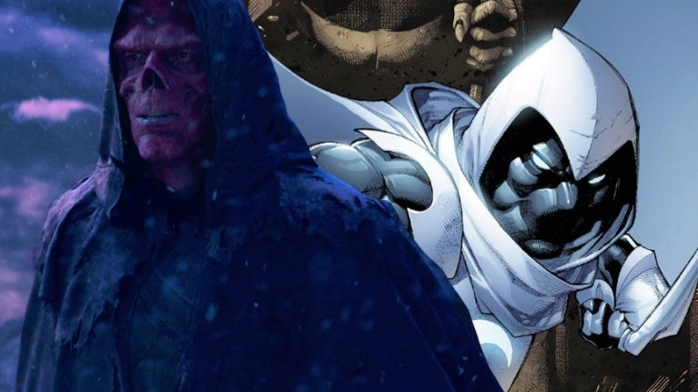 Avengers Infinity War Red Skull Moon Knight comicbookcom