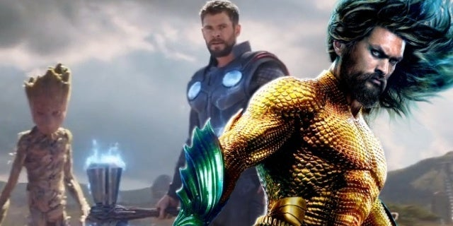 avengers infinity war thor aquaman ocean to ocean