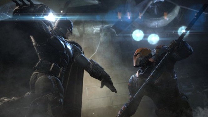 "Batman Arkham ""title ="" Batman Arkham ""height ="" 374 ""width ="" 665 ""class ="" 40 ""data-item ="" 1151936 ""/> </figure> <p> Earlier this month, we reported that the studio was teasing that it was hard at work on a new <i> Batman </i> game, something related to the Court of Owls storyline [edit] Batman: Arkham Origins </i> developer next year </p> <p> Geoff Ellenor, who serves as game director for WB Montreal , send out a ""holiday wish"" to fans earlier this month, featuring a number of development members doing a quick little dance. However, upon a closer look at the card, you'll notice something rather interesting here- a whiteboard with the word ""Redacted"" on it. </p> <blockquote class="