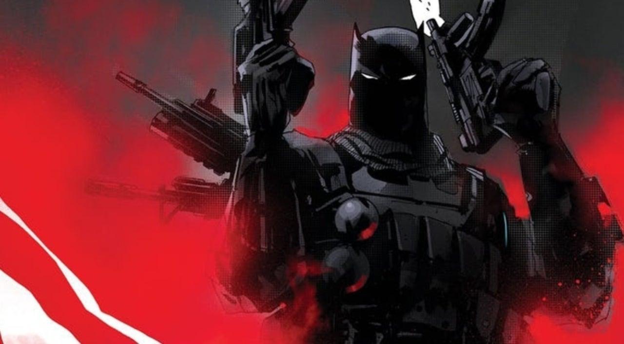 DC Debuts New Look at Gun-Toting Grim Knight Batman