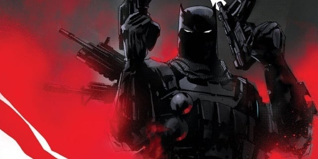 DC Debuts New Look at Gun-Toting Grim Knight Batman