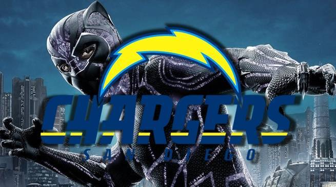 black-panther-nfl-sunday-night-football-san-diego-chargers-russel-okung
