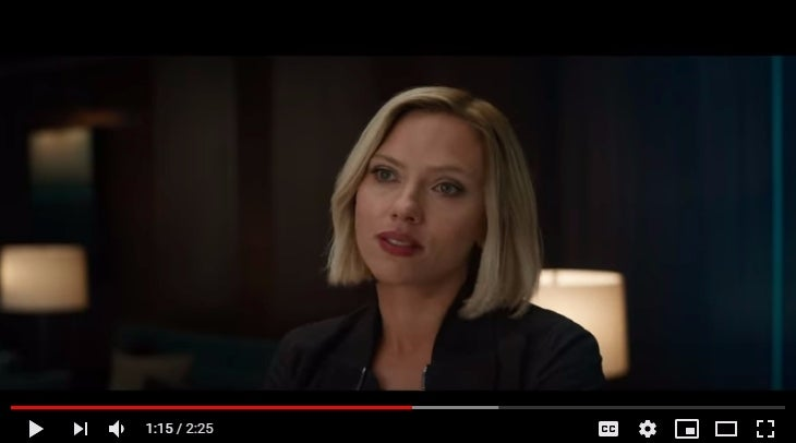 Avengers Endgame Theory Looks To Black Widow S Hair To