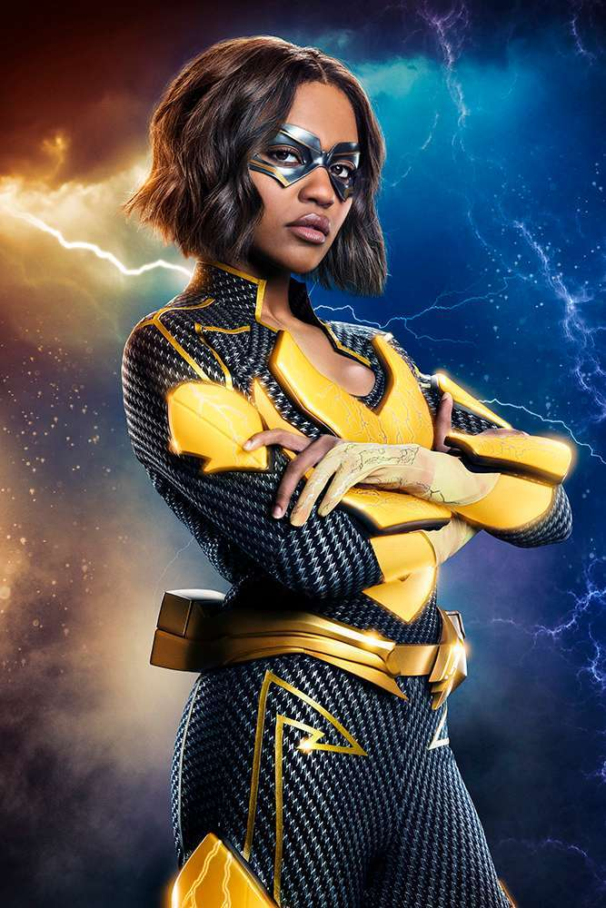 'Black Lightning': First Look at Lightning in Costume