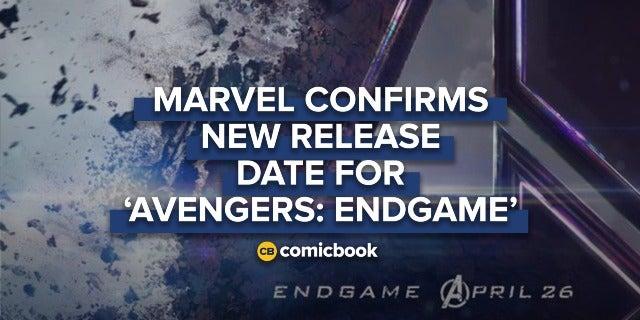 BREAKING: New 'Avengers: Endgame' Poster Reveals New Release Date screen capture