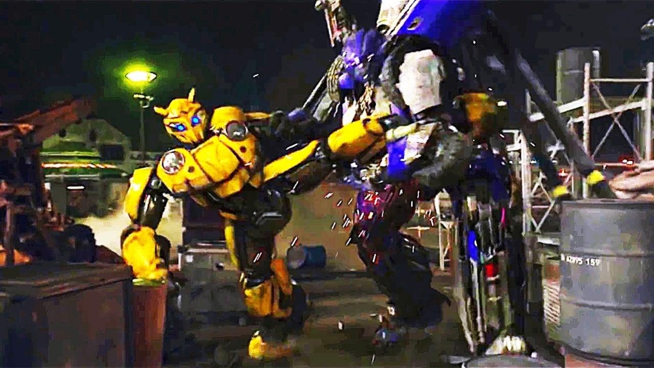 Transformers: 'Bumblebee' Fights Dropkick in New Clip
