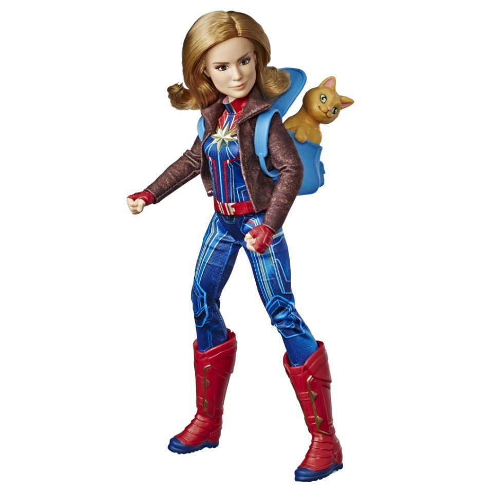 Captain-Marvel-11-5-Inch-Doll-Hasbro