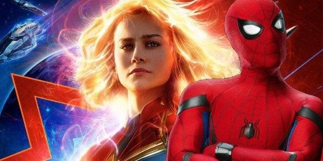 Captain Marvel Brie Larson Spider-Man