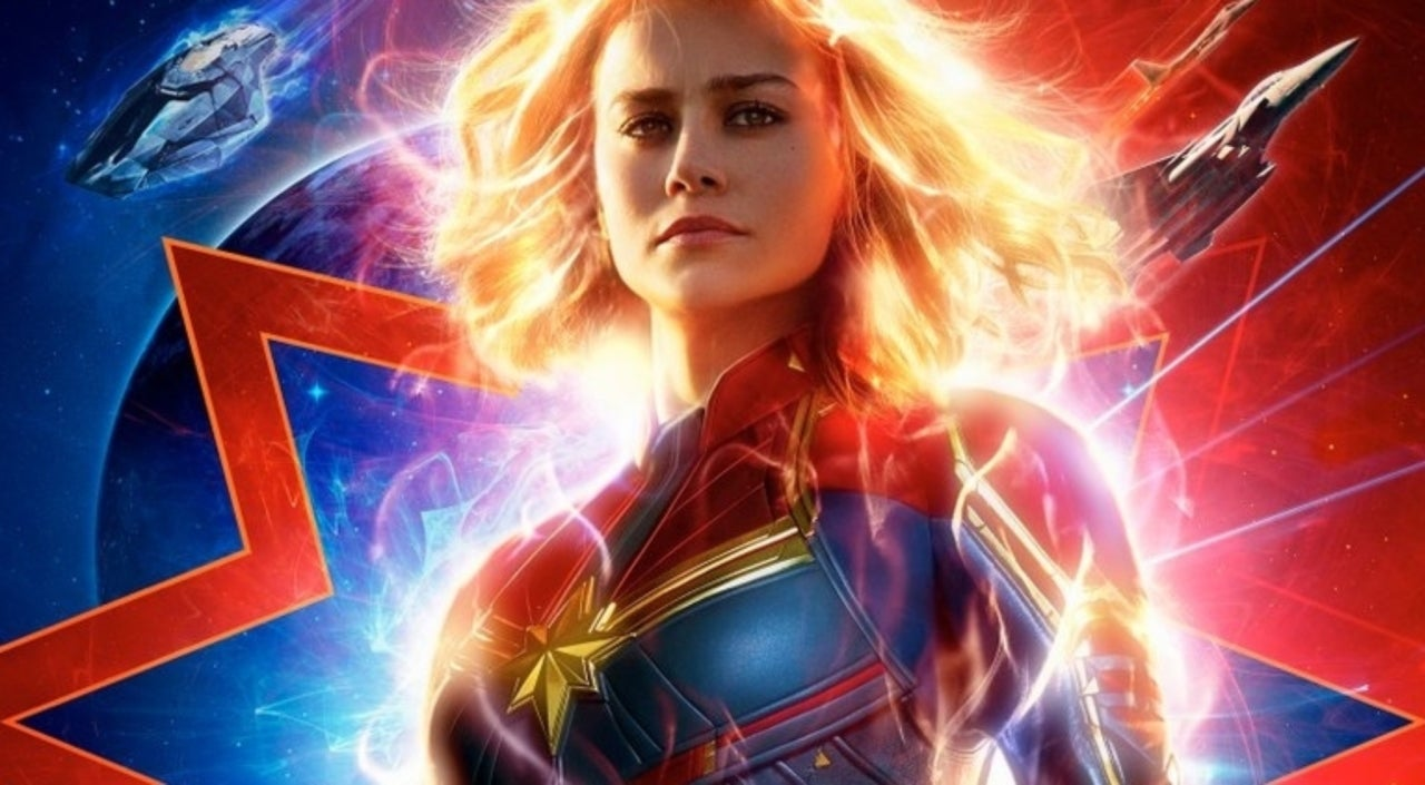 Marvel Studios reveals official Captain Marvel poster to coincide with new trailer on Monday night