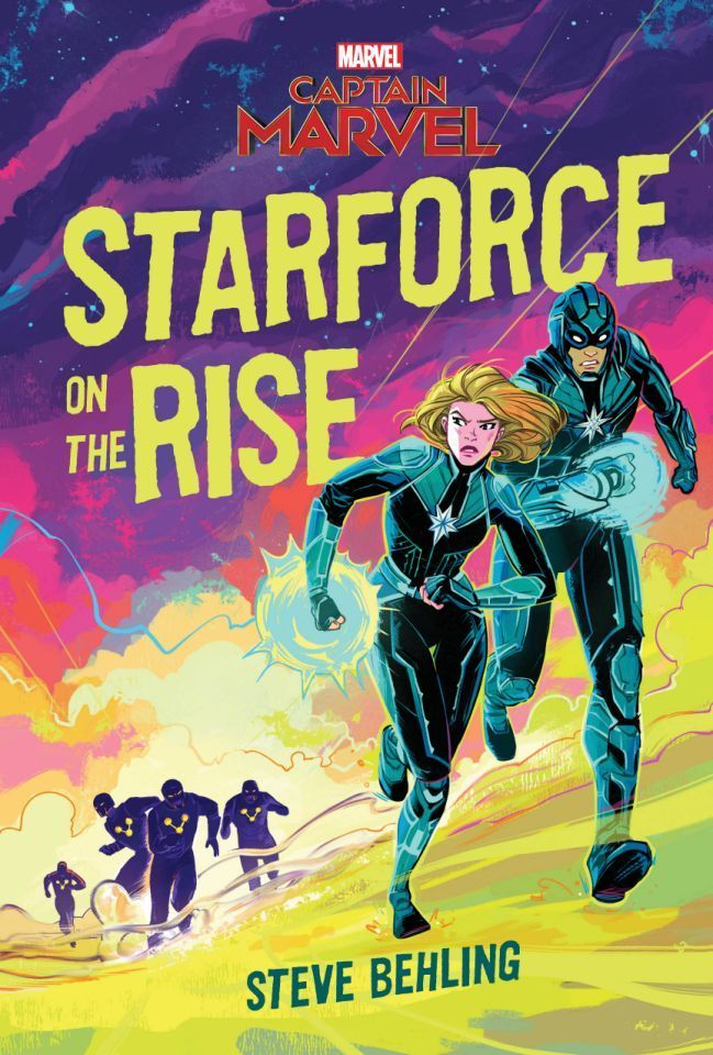 Captain-Marvel-Starforce-on-the-Rise-Novel