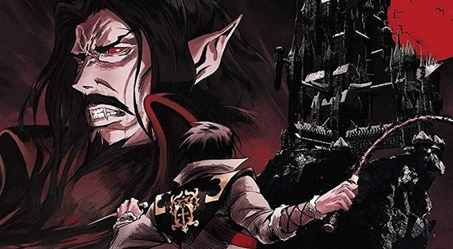 castlevania dvd bluray