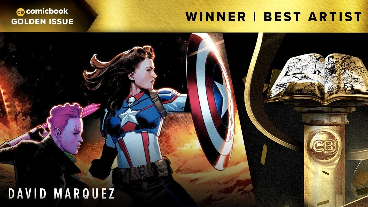 The 2018 ComicBook.com Golden Issue Award for Best Artist