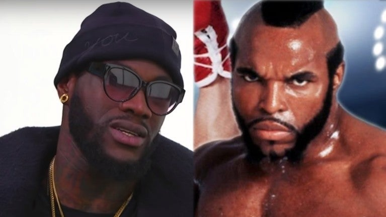 Clubber Lang Deontay Wilder