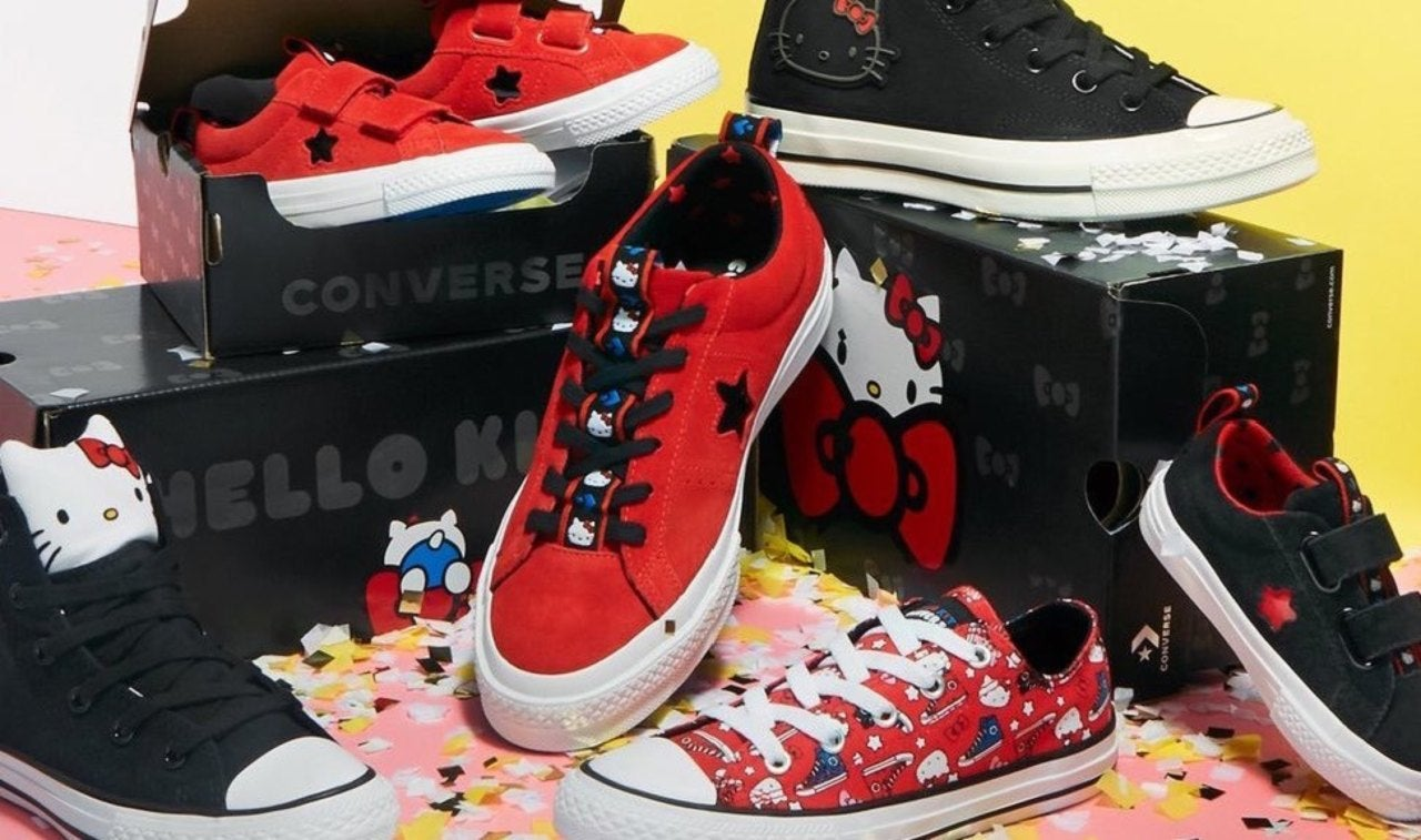 Hello Kitty Launches New Wave Of Converse Shoes c7c21c3afc15d