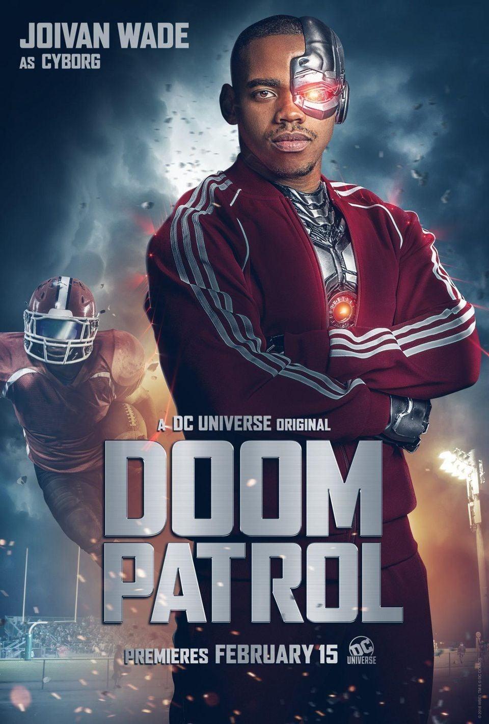 Doom Patrol Dc Universe Reveals First Look At Cyborg