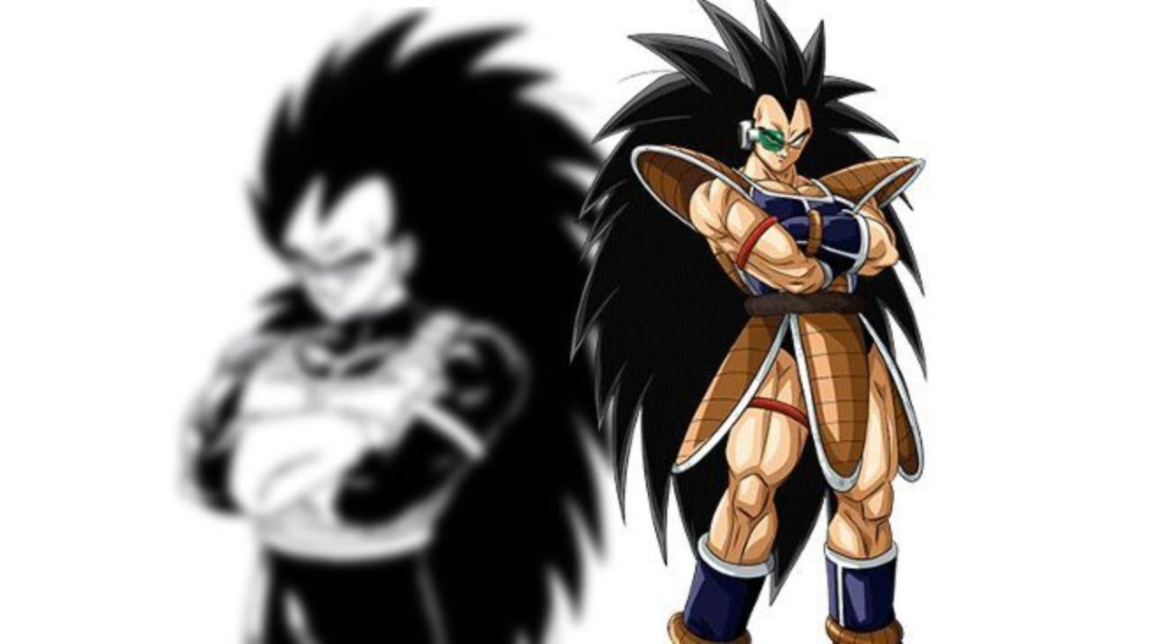 Dragon Ball Illustrator Gives Raditz A Makeover