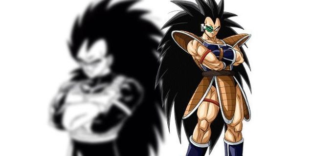 Dargon Ball Raditz Artwork Saiyan Armor