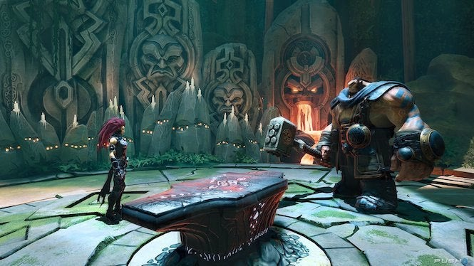"Darksiders 3 ""title ="" Darksiders 3 ""height ="" 374 ""width ="" 665 ""class ="" 40 ""data-item ="" 1148128 ""/> </figure> <p> <strong> Are there any franchises you have not worked on yet? that you'd like to? </strong> </p> <p> I'd really love to, I'd really like to, that I always mention when someone asks is Star Wars. That's top of my list for franchises. work on a Harry Potter project too. Finally, the number one person I'm passionate to work with is Guillermo Del Toro. We have some friends in common, and we're both areinto collecting a lot of the same art. ı </p> <p> <strong> If Darksiders see a fourth chapter, you would like to return for another go. -around? </strong> </p> <p> Absolutely! I think it would be a fun challenge for sure to figure out what the score for Strife would sound like. Plus, I just really loved working with everyone at Gunfire Games. I'd work with them on just about anything. </p><div><script async src="