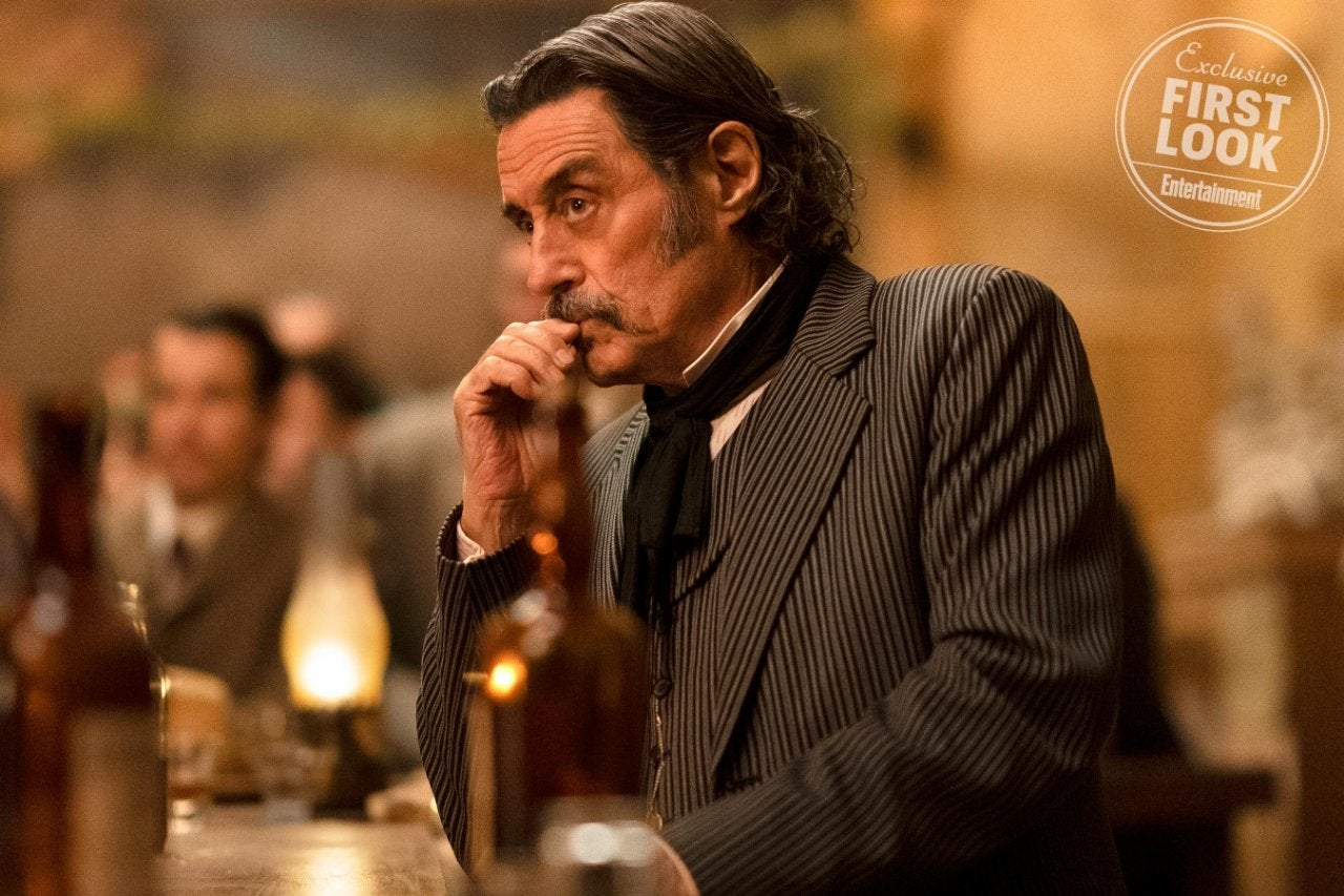 Deadwood Movie First Look Ian McShane Al Swearengen