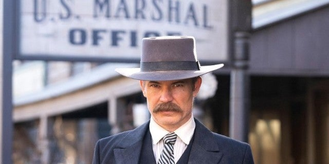 Deadwood Movie First Look Timothy Olyphant as Seth Bullock