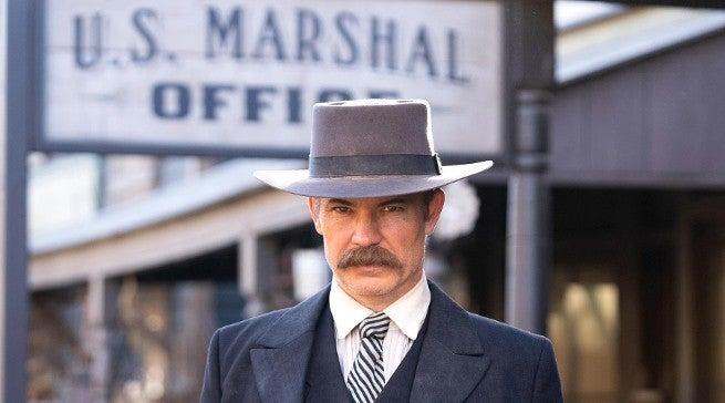 Deadwood Movie First Look Timothy Olyphant as Seth Bullock