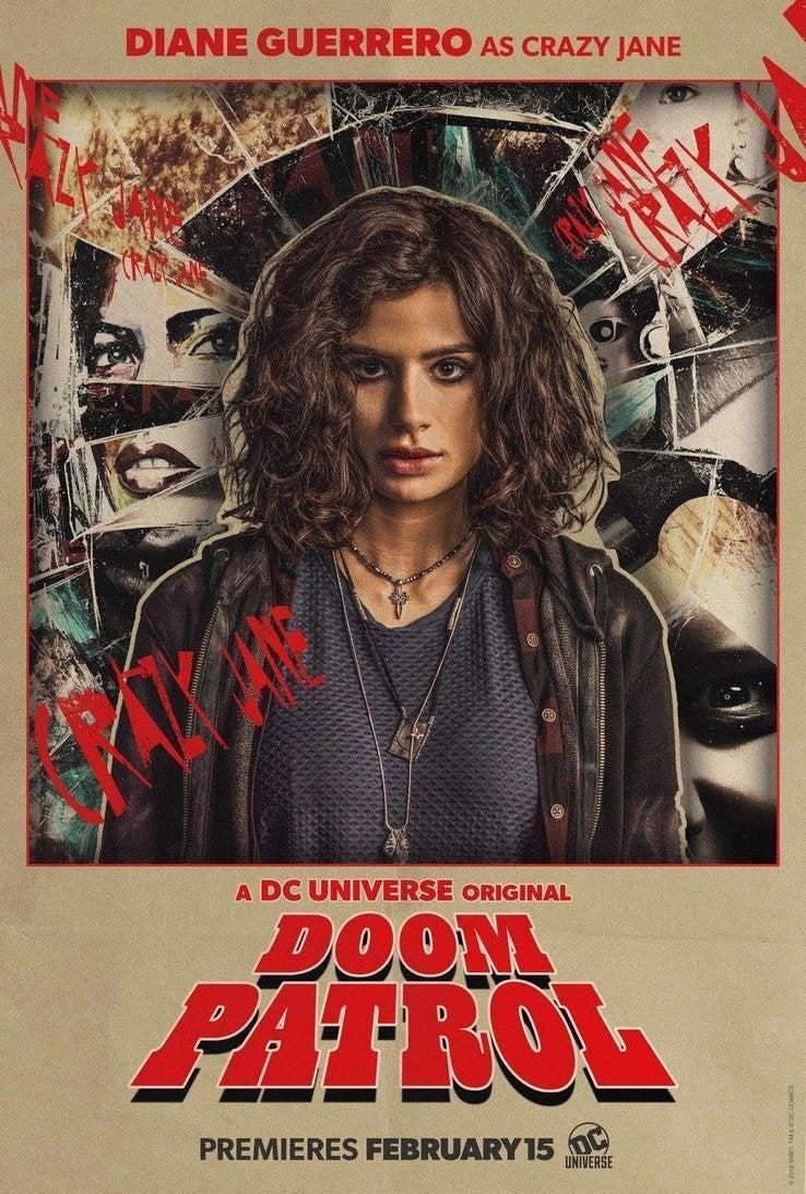 Doom Patrol Reveals First Look At Crazy Jane
