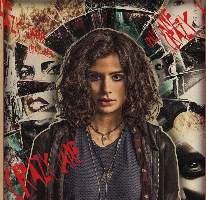 Doom Patrol TV Series Crazy Jane Diane Guerrero