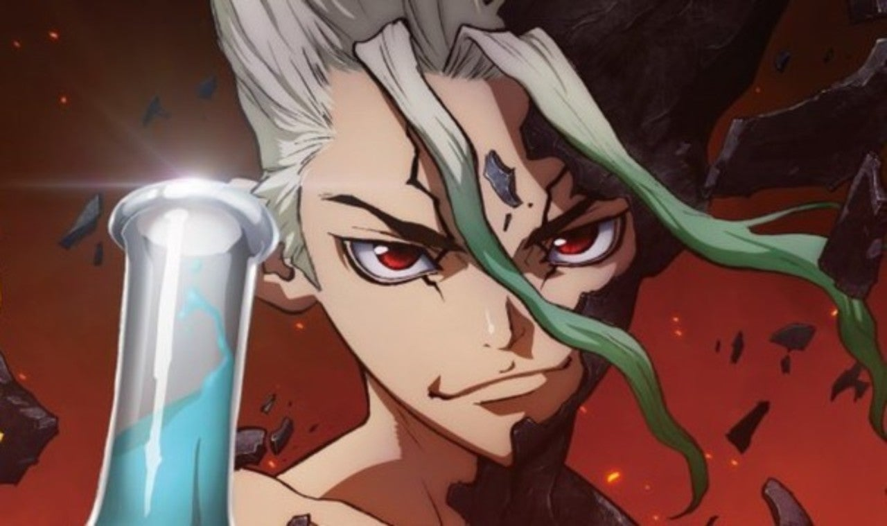 Dr Stone Anime Releases New Poster Staff Details