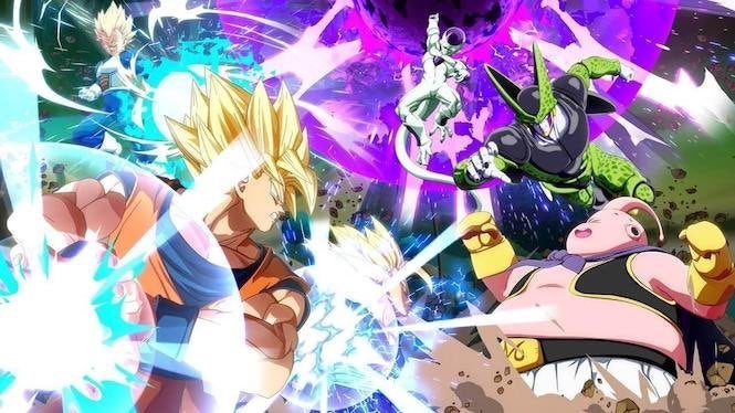 Image result for dragonball fighterz