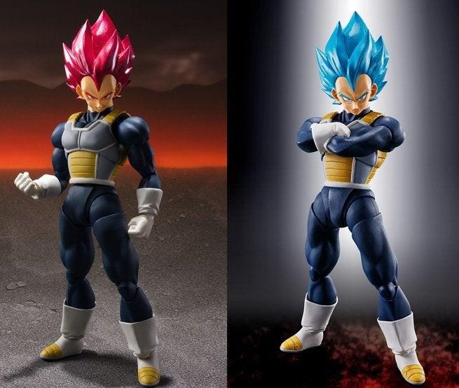 Dragon Ball Super Broly Super Saiyan God Vegeta Sh Figuarts