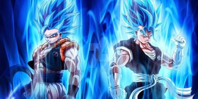 Dragon Ball Super Gogeta vs Vegito Fight Strongest_by_kapitanyosten