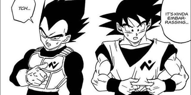 Dragon Ball Super Goku Vegeta Galactic Patrol Uniforms