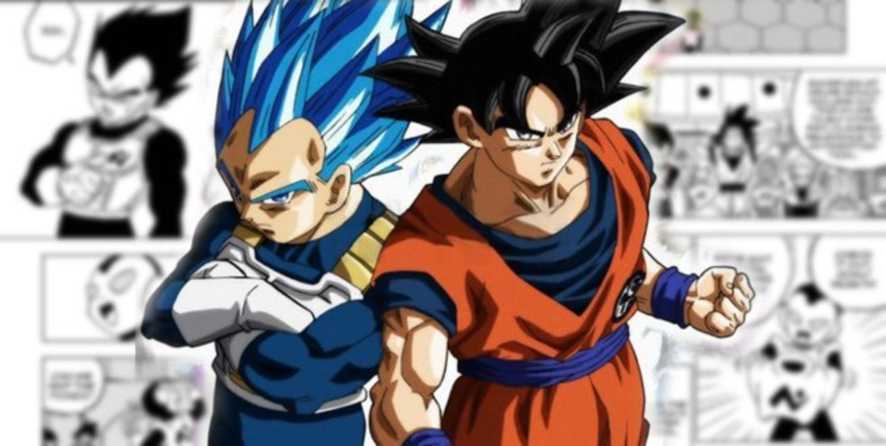 dragon ball super gives goku and vegeta new team uniforms