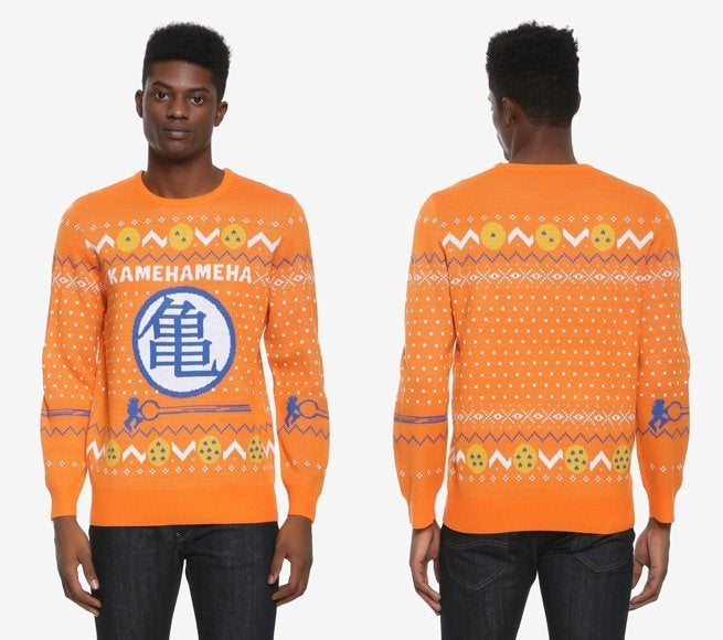Save 20 On The Official Dragon Ball Z Ugly Christmas Sweater