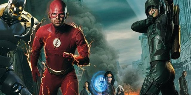 elseworlds arrowverse poster reactions