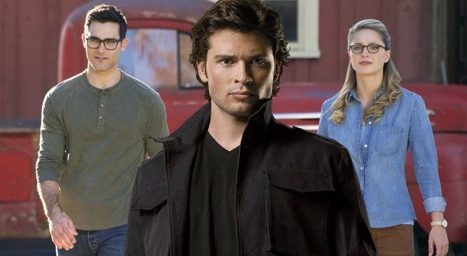 elseworlds arrowverse smallville internet reacts
