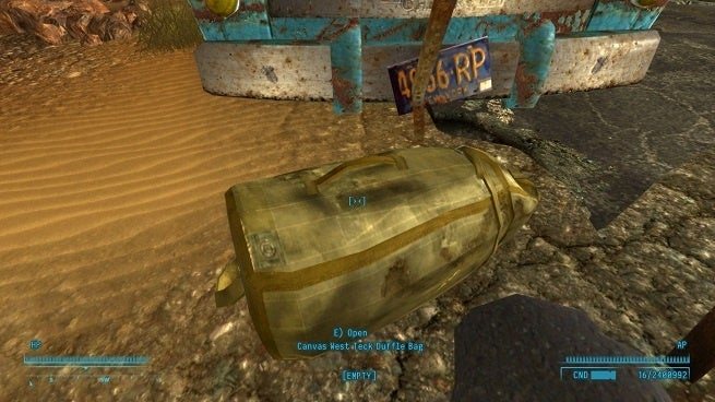 Fallout New Vegas Bag Mod