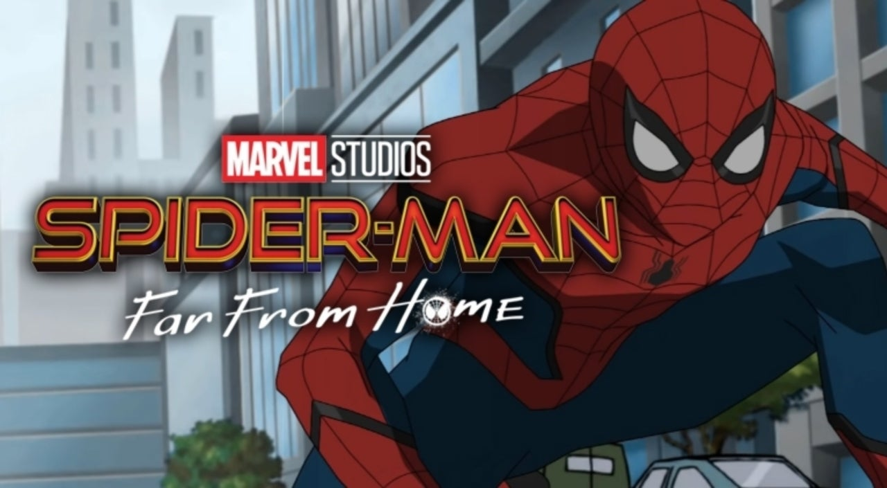 spider man far from home trailer gets an animated version
