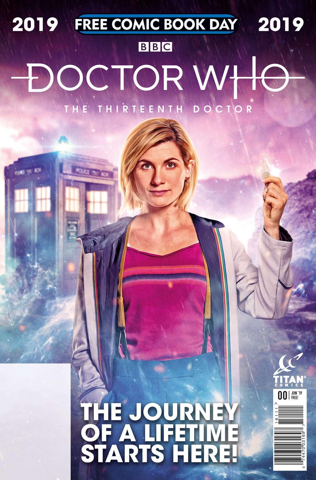 FCBD19_G_Titan Comics_Doctor Who 13th Doctor
