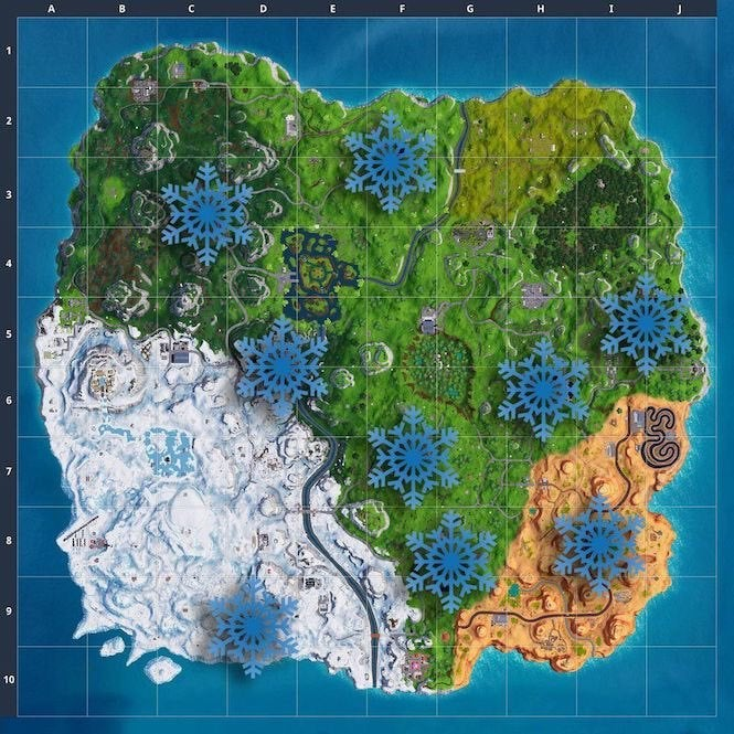 "Fortnite 2 ""title ="" Fortnite 2 "" height = ""665"" width = ""665"" class = ""40"" data-item = ""1151927"" />    <figcaption> (Photo: Forbes) </figcaption></figure> <p> Granted, this nails down the locations a little bit, though you'll still need to do some looking. Pleasant Park </li> <li style="