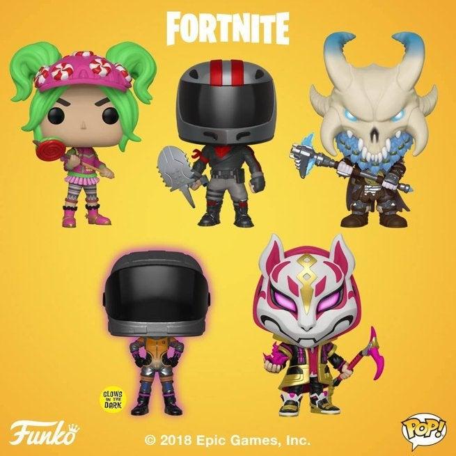 Funko Drops Ten New Fortnite Pop Figures