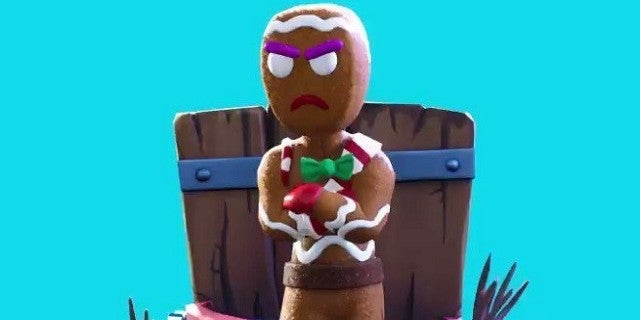 New 14 Days Of Fortnite Challenge Reward Is A Dabbing Gingerbread