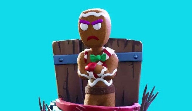New 14 Days Of Fortnite Challenge Reward Is A Dabbing Gingerbread Man