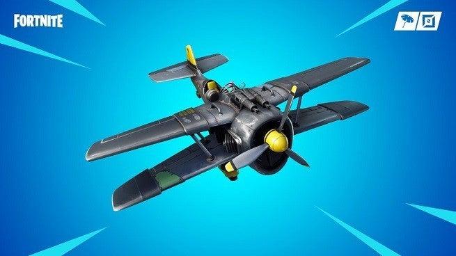 Fortnite Plane