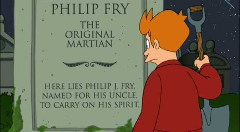 Futurama Luck of the Fryrish