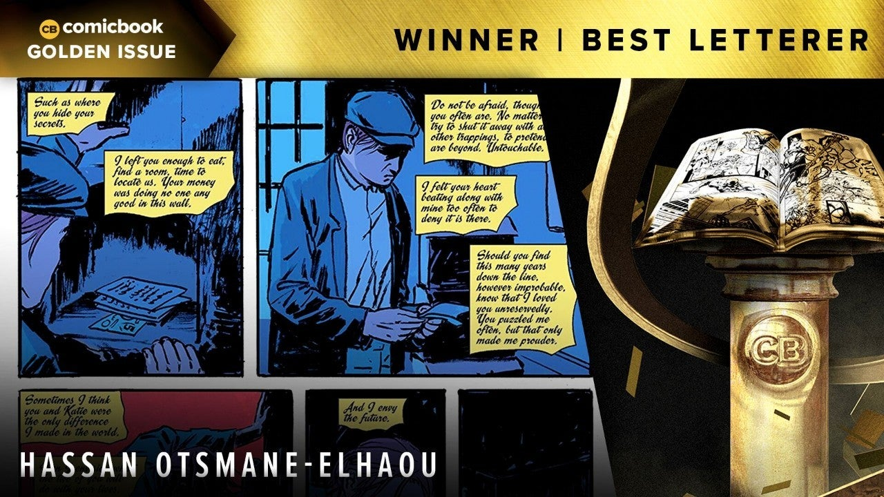 golden issue best letterer
