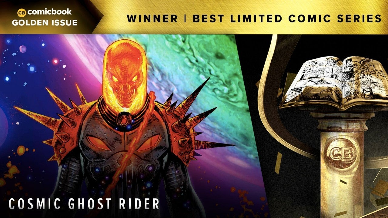 golden issue cosmic ghost rider